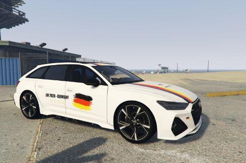 2020 Audi RS6 C8 Avant - EM 2020 GERMANY [Paintjob]