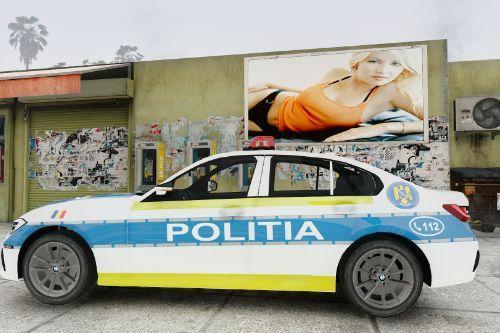 2020 Bmw M3 (G20) Politia Romana (Noul Design)