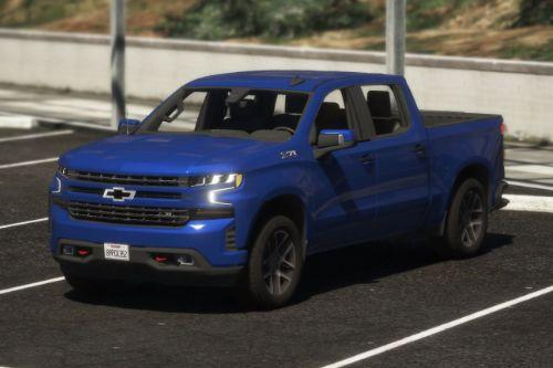 2020 Chevrolet Silverado 1500 Crew Cab Trail Boss LT [Add-On / Replace | Template]
