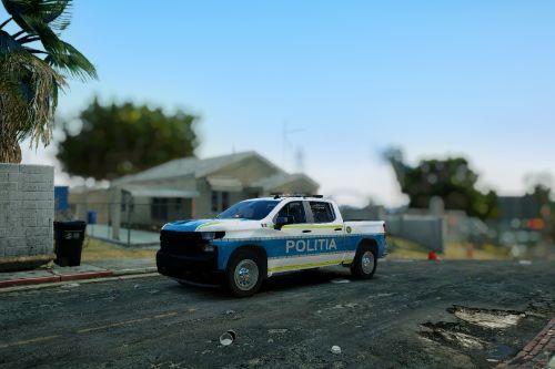 2020 Chevrolet Silverado Politia Romana