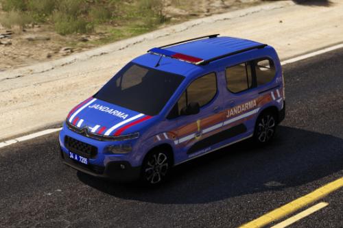 2020 Citroen Berlingo Jandarma Turkish | ELS