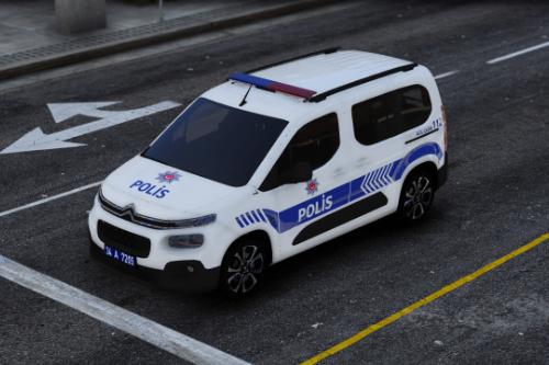 2020 Citroen Berlingo Polis Asayis Turkish | ELS