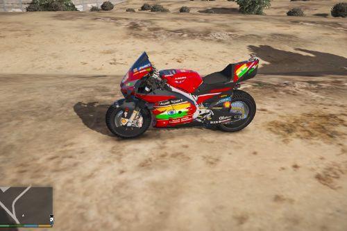 2020 Ducati desmosedici GP20 With Indian Flag [ Replace ]