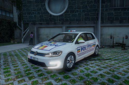 2020 E-Golf - Politia Romana
