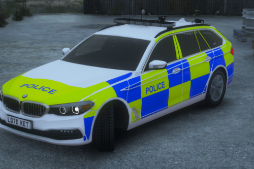2020 ELS Generic British Police BMW 530D G31