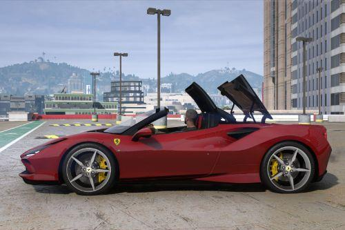 2020 Ferrari F8 Spider [Add-On | Animated Roof]