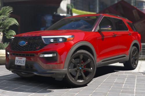 2020 Ford Explorer ST [Add-On / Replace]
