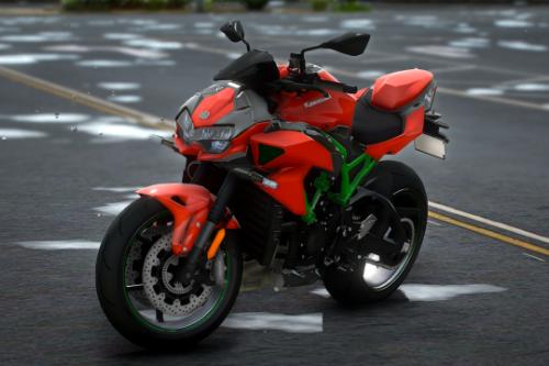 2020 Kawasaki Z-H2 [Add-On]