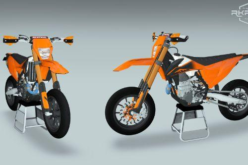 2020 KTM EXC450 Supermoto