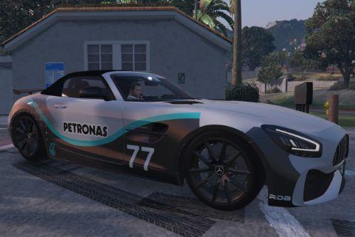 2020 Mercedes-AMG GT-R Roadster - New Petronas Design [Paintjob]