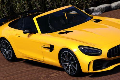2020 Mercedes-Benz AMG GT-R Roadster [Animated Roof] [Add-On | Template]
