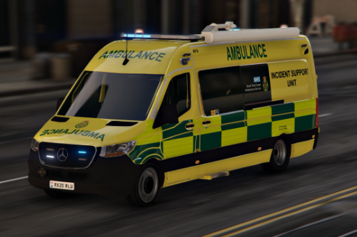 2020 Mercedes Sprinter - South East Coast Ambulance Service - Incident Support Unit [ELS]