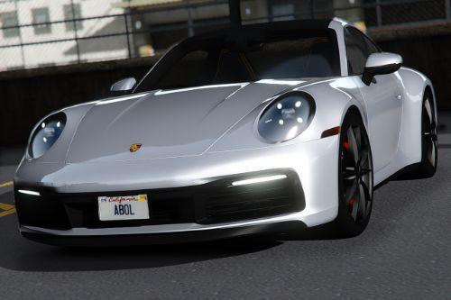 2020 Porsche 911 Carrera S [Add-On | Template]