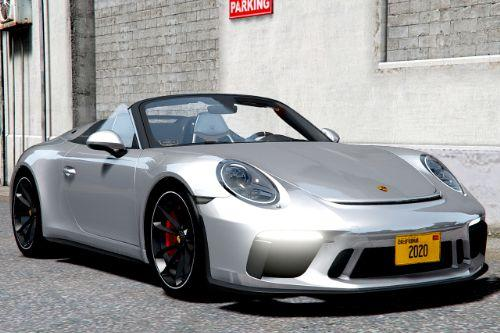 2020 Porsche 911 Speedster [Add-On]
