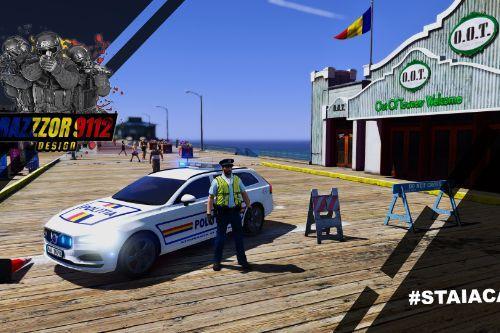 2020 Romanian Police Volvo V90