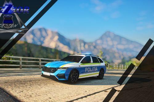 2020 Skoda Octavia Politia Romana