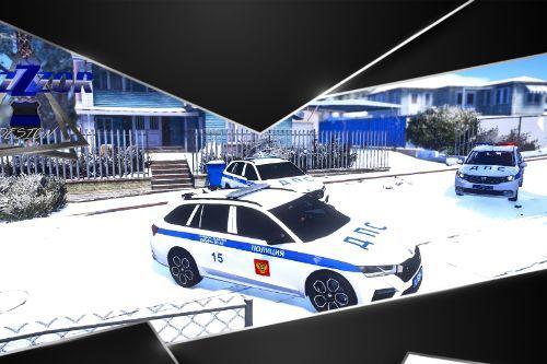 2020 Skoda Octavia Russian Police ДПС