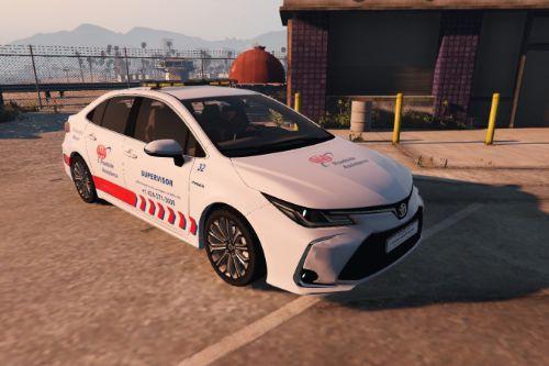 2020 Toyota Corolla - AAA Roadside Assistance [Paintjob]