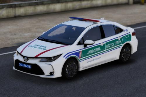 2020 Toyota Corolla Jandarma Otoyol Trafik Turkish
