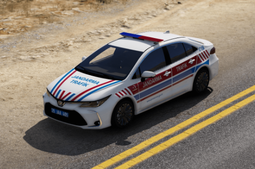 2020 Toyota Corolla Jandarma Trafik Turkish