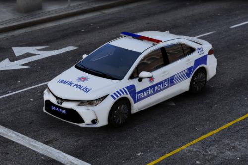 2020 Toyota Corolla Trafik Polisi Turkish