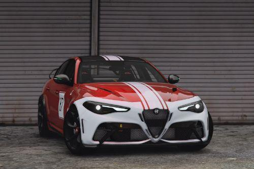 2021 Alfa Romeo Giulia GTAm [Add-On | Extras | Tuning | LODs | Template]