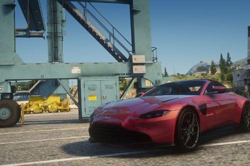 2021 Aston Martin Vantage Roadster [Add-On | Extra Roof]
