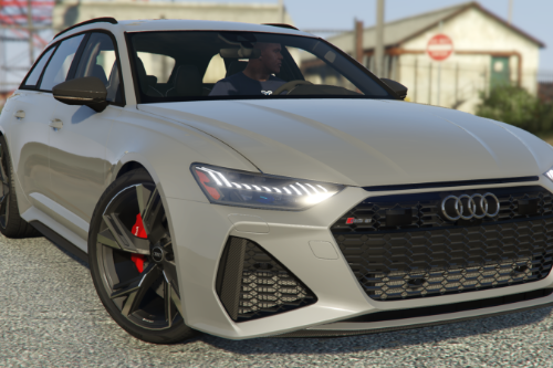 2021 Audi RS6 Avant [Add-On]