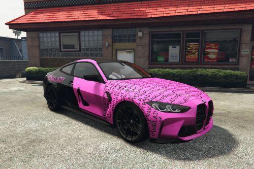 2021 BMW M4 Competition - Pinklady Girls [Paintjob]