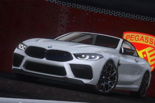 2021 BMW M8 F91 Competition Convertible [Animated Roof] [Add-On]