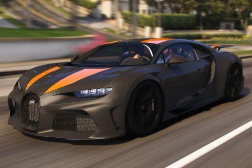 2021 Bugatti Super Sport 300+ [ Add-On | Automatic/Manual Spoiler | Animated Engine ]