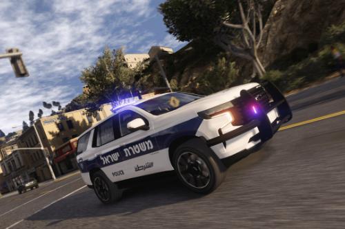 2021 Chevrolet Tahoe | Israeli Police