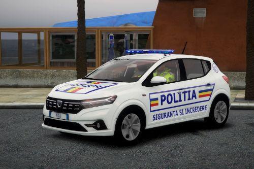 2021 Dacia Sandero - Politia Romana