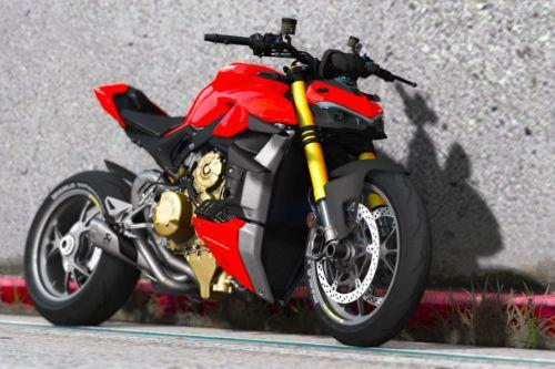 2021 Ducati V4S StreetFighter [Add-On | Tuning | Template]