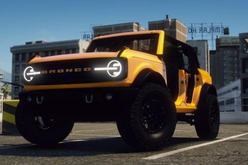 2021 Ford Bronco Wildtrak [Add-On | FiveM]