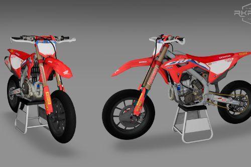 2021 Honda CRF450 Supermoto [Add-On | LODs]