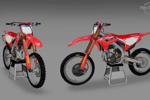 2021 Honda CRF450RW
