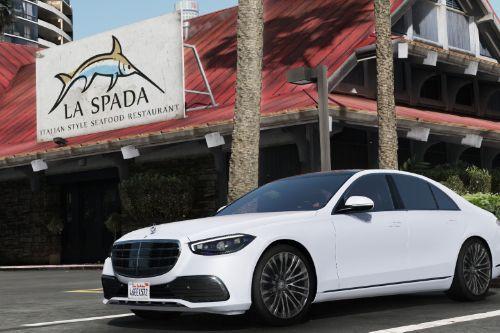 2021 Mercedes-Benz S500 [Add-On]