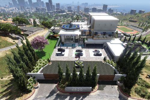 2021 Modern Mansion [MapEditor]