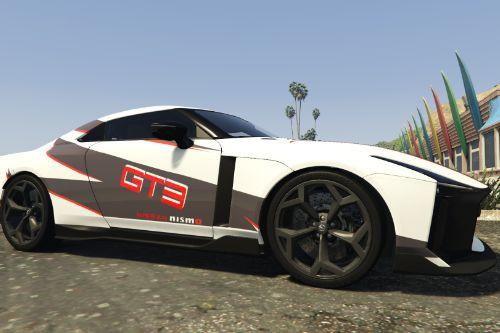 2021 Nissan GT-R R50 Italdesign - GT3 Design fict. [Paintjob]