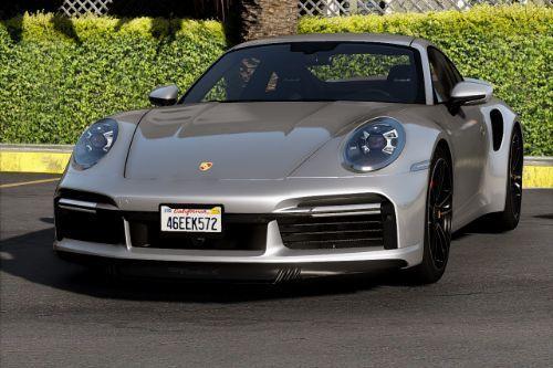2021 Porsche 911 Turbo S [Add-On | Template]