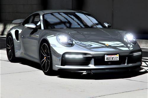 2021 Porsche 911 Turbo S [Add-On | LODs | Template]