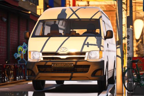 2012 Toyota Hiace SLWB [Add-On / Replace | FiveM | Template]