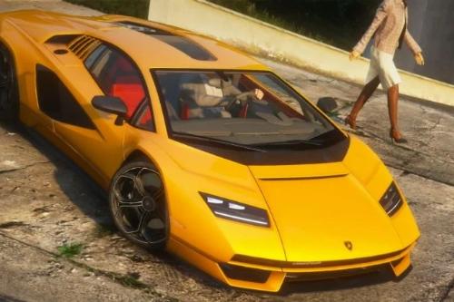 Handling for 2022 Lamborghini Countach LPI 800-4