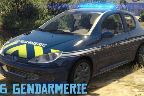 Peugeot 206 Gendarmerie