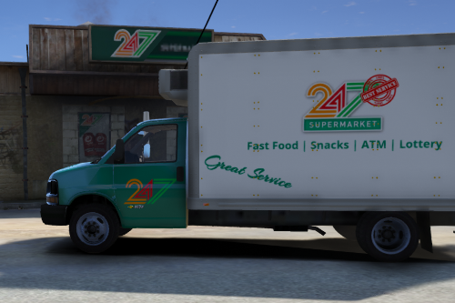 24/7 Delivery Truck Liveries