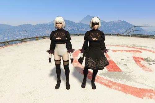 2B (Nier Automata) [Add-On / Replace]