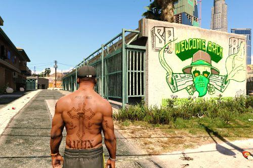 2Pac's Tattoos for Franklin