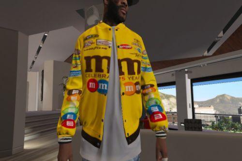 M&M race car jacket