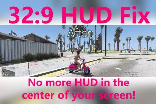 32:9 Aspect Ratio HUD fix